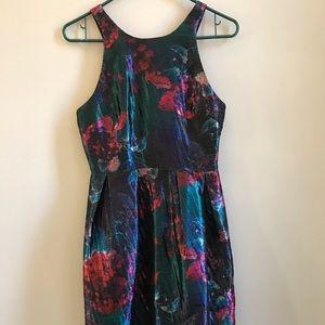 Anthropologie Hutch Flowered Dress w/ pockets